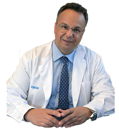Ο χειρουργός ορθοπαιδικός Dr Μπαδέκας Αθανάσιος